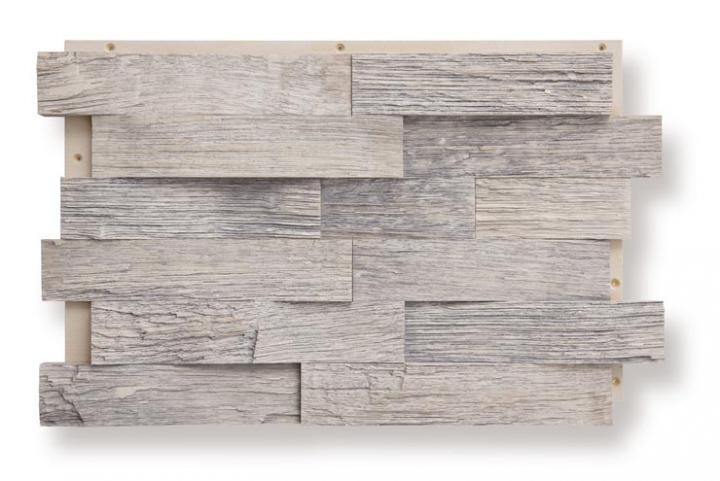 Oak, rough-cut, antique white